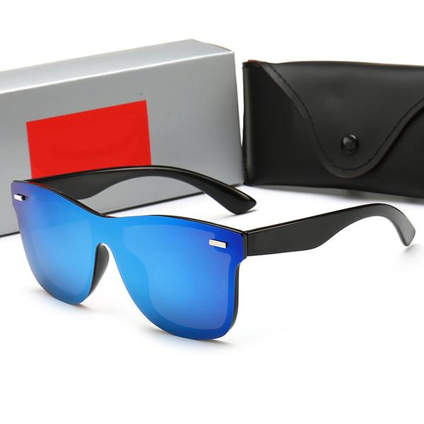 Yaz Marka erkek Güneş Gözlüğü Polarize Adumbral Tam Kare Gözlük Moda Erkekler Kadınlar için Google Güneş Gözlüğü Cam UV400 Kutusu ile 5 renkler