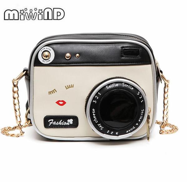 Small Bags Girl Vintage Fashion Lady Camera Shoulder Bag Women Handbag Chain Messenger Female Crossbody Bag
