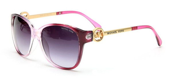 Name Brand Sunglasses women 2019 New Designer ROUND frame Sun Glasses Plain glasses Reflector best Quality with chain C-9