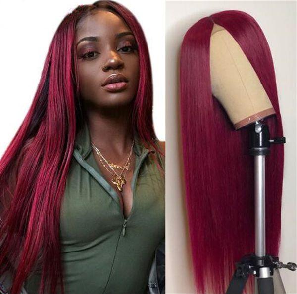 Full Lace Wig Straight Brazilian Remy Human