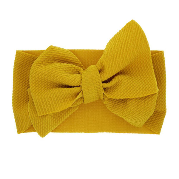 10 colors baby girl candy color big bow headband Design Hair bowknot Children Headwear Kids Hairpin Girls Baby Hair Accessory
