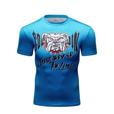 2019 New Men's Cool Creative T-Shirt Batman Vs Superman Logo Short Sleeve Fitness Bodybuilding Compression 3D T-Shirt M-XXL