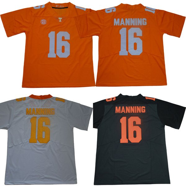 promo code 3e690 685cd 2019 Men College Tennessee Volunteers Jerseys White Orange Grey #16 Peyton  Manning Adult Size Football Jersey Stitched From Wangmingling, $20.21 | ...