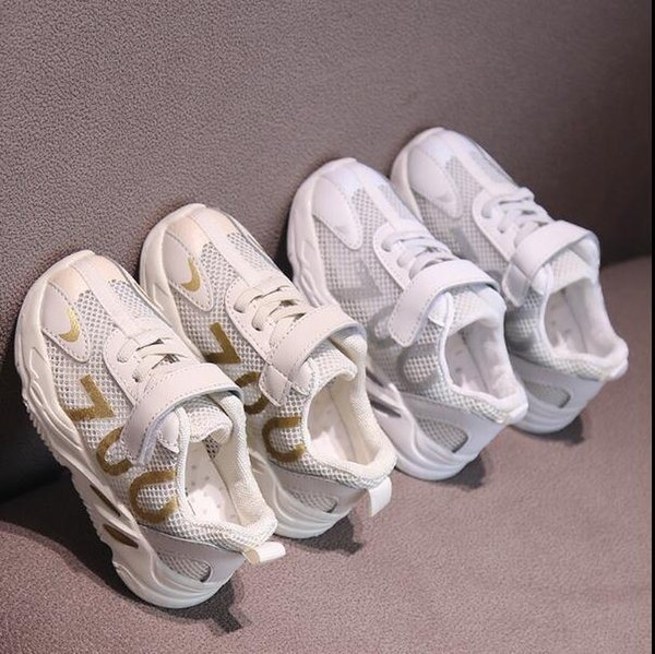 Children hollow mesh breathable spring and summer new boys and girls sports shoes wholesale and retail 421-8