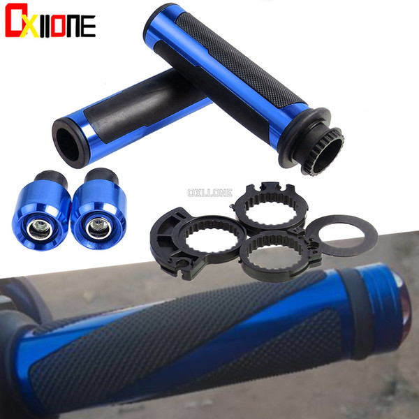 22mm rubber motorcycle handlebar handle bar motorbikes hand grips for yamaha xmax x-max x max 125 200 250 300 400 nmax 125 155