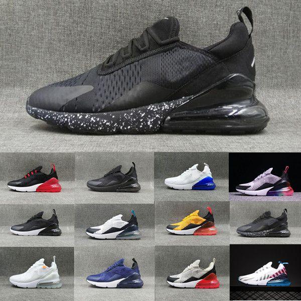 Compre Nike Air Max 270 27c Airmax 2019 Parra Hot Punch Photo Azul Hombres Mujeres Zapatos Corrientes Triple Blanco Universitario Rojo Oliva Volt