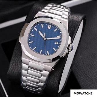 15 styles de montres de luxe sport Nautilus Montre Homme Automatique Monement Montres en or rose cadran brun Homme inoxydable Montres-bracelets mécaniques