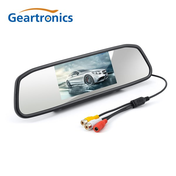 Car Rear View Camera with Mirror Monitor System kit Assistance HD CCD Night Vision Rear Camera Auto Backup Reverse System