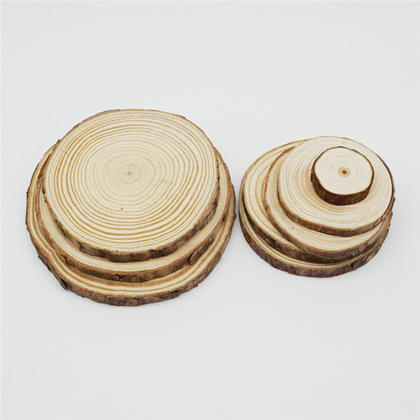natural wooden beads diy painting pgraphic material pine wood chips beads 30-40mm 40-50mm 50-60mm 60-70mm 70-80mm 80-100mm