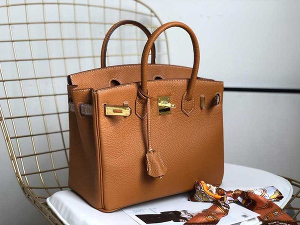 Bolsas de grife H bolsas de moda mulheres bolsa Togo bolsa de senhoras de couro genuíno saco de moda de alta qualidade