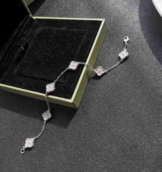 S925 mini flower bracelet