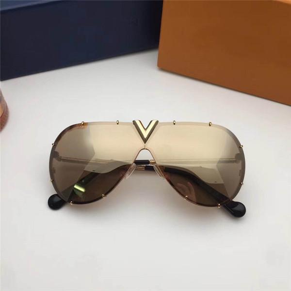 best selling Find Similar Luxuyr Z0891E Men Women Sunglasses UV Protection Lens Fashion Oval Coating Mirror Lens Frameless Color Plated Frame Come