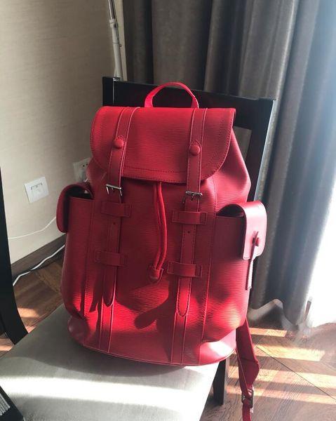 best selling High quality Free shipping 2019 Luxury designer women backpack men bag designer backpacks men's back pack women's travel bag backpacks