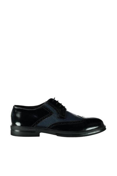 Derimod cuero genuino negro azul marino zapatos de hombre