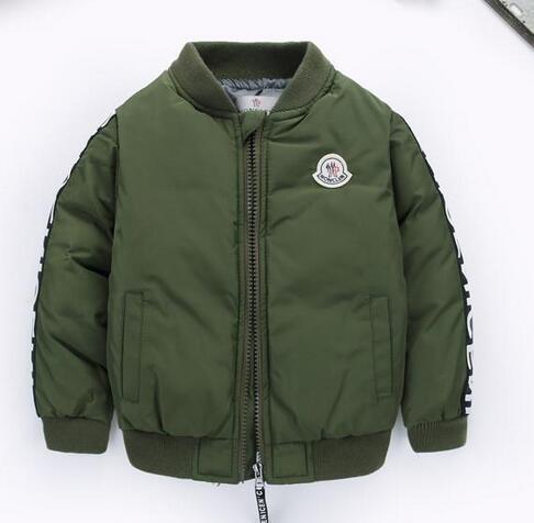 2020 New Boys Giù parka Giacche Giacca invernale modo del ragazzo dei bambini spessi cappotti bambini Giacca a vento Giacche Outwear