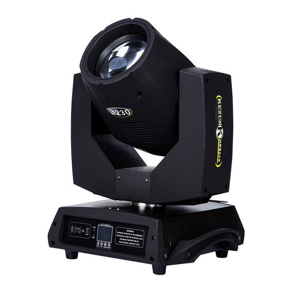 top popular ASRAMLED 230W Moving heads light Spot Beam Moving Head Light Lyre DMX512 Stage Light Stroboscope For Home Entertainment Professional Stage 2021