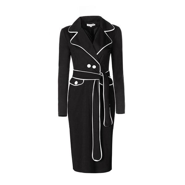 quality design 300ca 3a8b6 Acquista Tempo Limitato 2019 Donna Installa Tuta Capispalla Vestito  Colpitura Autunnale Colour Dress Dress Gonna Anca Gonna Tubino Abiti Casual  A ...