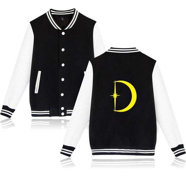 XXS-4XL D SHOW Baseball Jacket Casual Harajuku Sweatshirt Outwear D Letter Printed Streetwear Tops