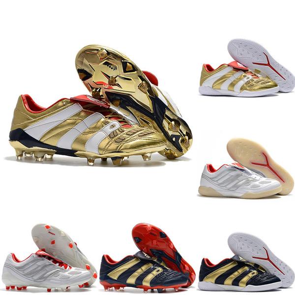 2019 en kaliteli erkek futbol ayakkabıları PREDATOR ACCELERATOR Elektrik FG futbol cleats PREDATOR 19 futbol ayakkabıları kapalı IC predator tango 02