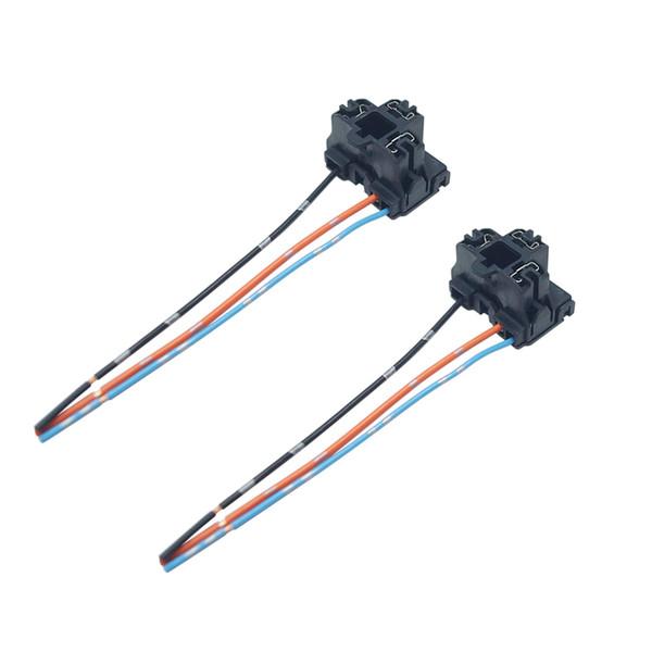 2 stücke Auto Auto Lkw H4 Scheinwerfer Verlängerung Licht Stecker Buchse Adapter H4 LED HID Licht Kabelbaum # 5957