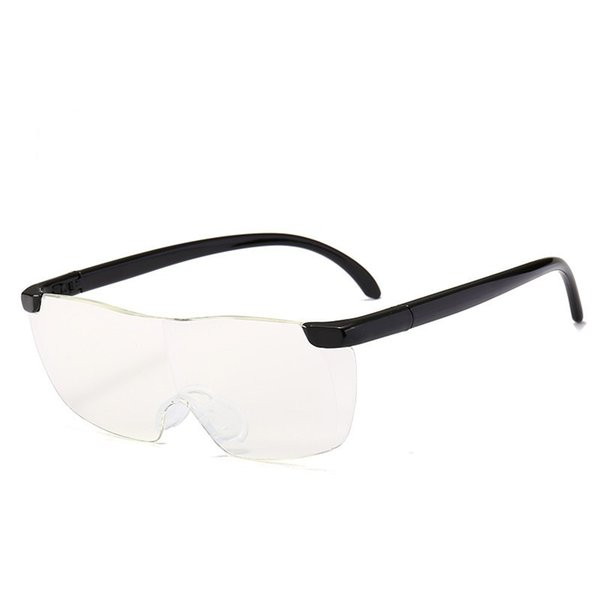 Reading Glasses Presbyopic Glass Enlarge 1.6 Times For Old People Big Vision Frameless Wear Resistant 5fs F1