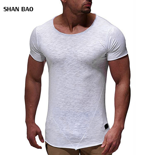 2019 New Brand Mens T-Shirts Summer cotton Short Sleeve T Shirts casual Tee Shirts Male T shirt Homme Plus Size M-3XL