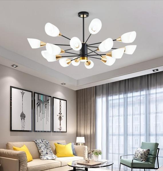 Compre Lámparas Para El Dormitorio Posmoderna Moderna Lámpara De Comedor  Ambiente Del Hogar Sencilla Creativa Personalidad Nórdica Estilo Salón De  ...