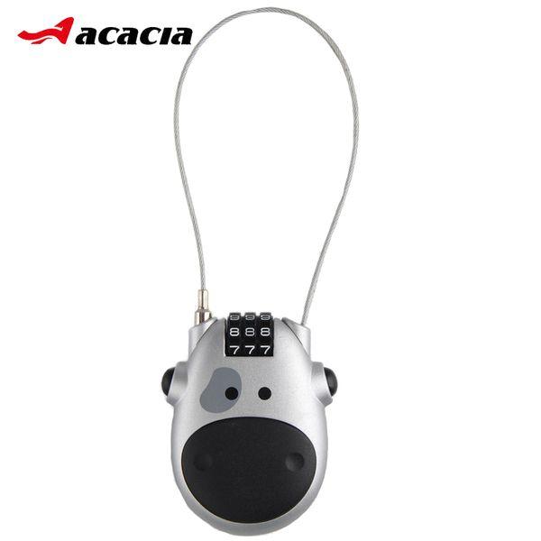 3 Digital Bicycle Cable Lock Cute Mini Portable MTB Road Bike Lock Anti-theft Security Outdoor Backpack Helmet Padlock