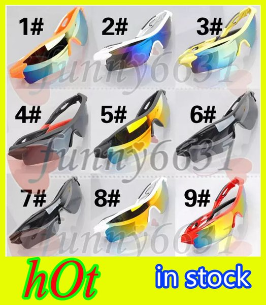summer newest style Only SUN glasses 9 colors sunglasses men Bicycle Glass NICE sports sunglasses Dazzle colour glasses A+++ free shipping