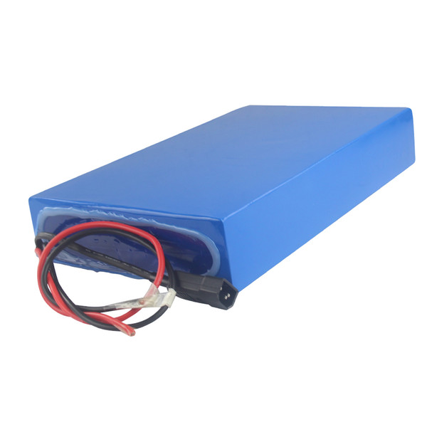 Free shipping AU EU US waterproof rechargeable 48v 20ah electric skateboard battery High-capacity for 300W to 2000W power with 3A charger