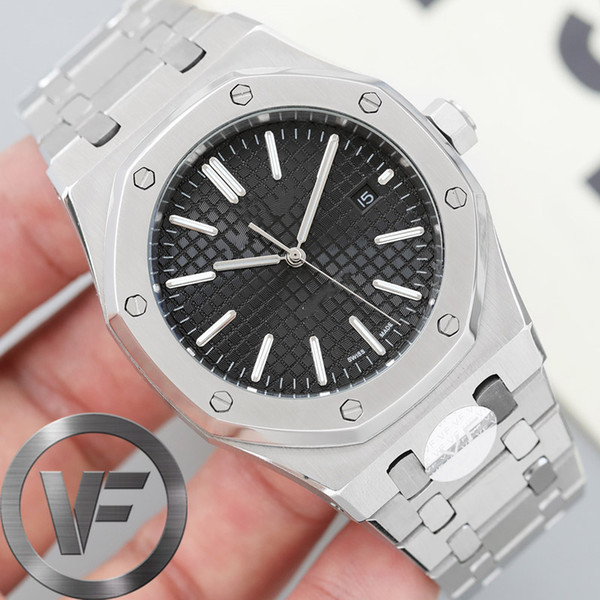 top popular New VFactory Sapphire Mens 41mm Automatic Movement 2813 watch Fashion Mechanical Watches designer Wristwatches 2021