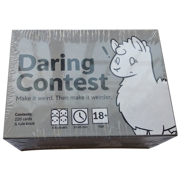 The latest and hottest Daring contest Game Cards game basic version Collection Play Fun For Adults boards game