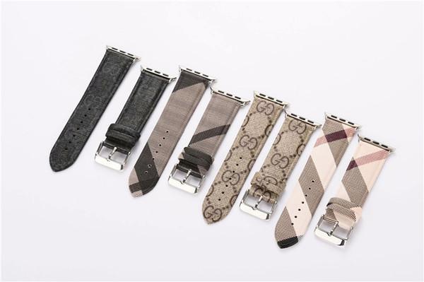 Reifen stetigen Low-Key-Business-Lederarmband für Apple Watch Band 42 mm 38 mm 40 mm 44 mm für iwatch Uhrenarmband Casual Style komfortabel
