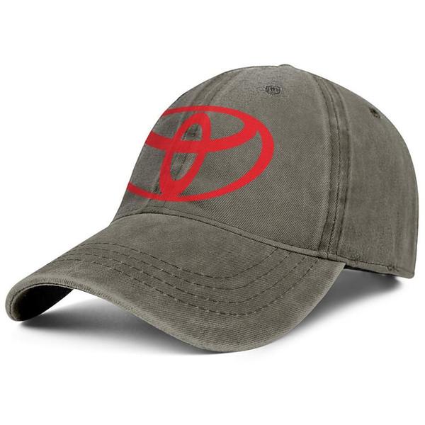 Toyota logotipo símbolo vermelho emblema homem Esporte chapéu de golfe elegante mulheres ajustáveis cap verão trendy cap golf malha chapéus de verão
