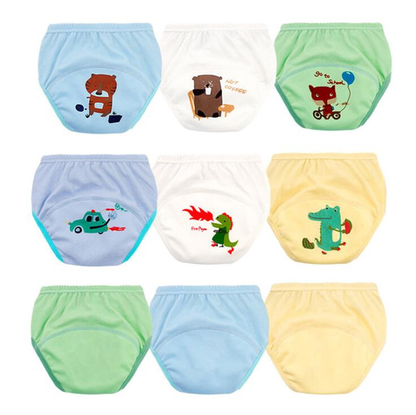 Printed Kids Training waterproof Pant Cartoon Diapers Print Baby Nappies Prints embroidery Modern Kid Cloth Diapers MOQ 150pcs S19JS192