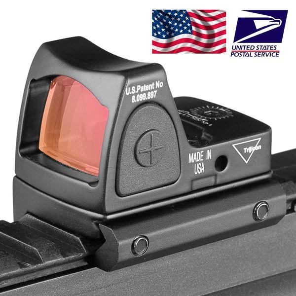 2018 New Style Trijicon Reflex tattico regolabile portata rossa di vista del puntino per il fucile di caccia di ripresa
