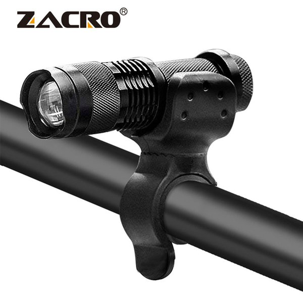 Bicycle Light 3 Mode Bike LED Front Light Cycling Torch Waterproof ZOOM Light