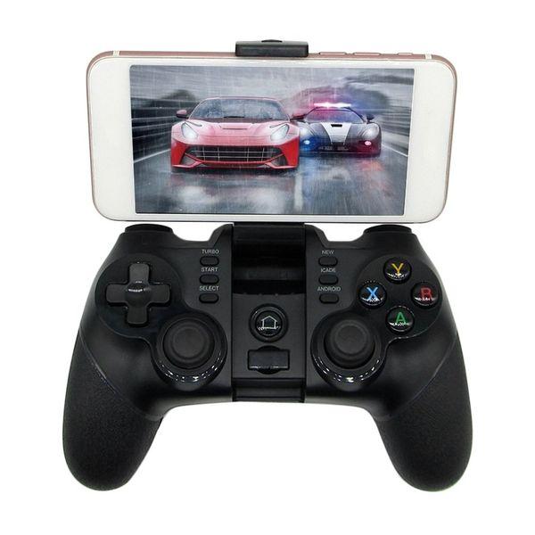 Venta caliente Inalámbrico Bluetooth Game Pad Controlador de juego Smartphone Joystick Adecuado para PS3 para teléfonos Android envío gratis