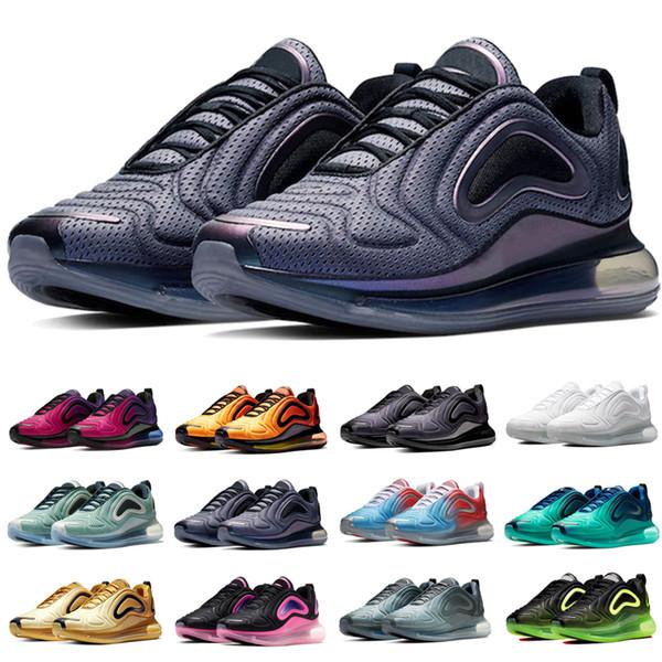 Nike Air Max 720 Herren Damen Sneaker Laufschuhe Sunrise Sunset Northern Lights Carbon Grau Sea Forest Total Eclipse Volt Top Designer Sportschuh Größe 36-45