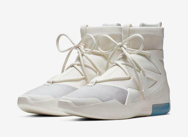 Con scatola FOG Fear of God X 1 SA 180 Raid Boots Osso leggero Lusso Arancione Scarpe da corsa a vela Sneakers sportive all'aperto