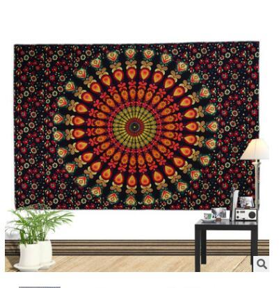 Indian Bohemian Mandala Tapestry Wall Top Quality Hanging Sandy Beach Picnic Throw Rug Blanket Camping Tent Travel Mattress Sleeping Pad