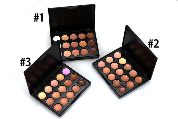 Professional 15 Colors Concealer Foundation Contour Face Cream Makeup Palette Pro Tool for Party Wedding Daily