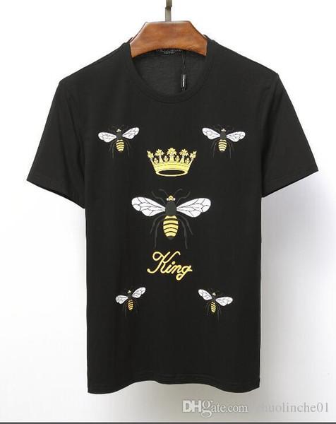 2019 dernier style T-shirt, T-shirt à manches courtes pour hommes, mode d'impression occasionnelle, taille m-xxl, sans fret - Bienvenue pour acheter -07