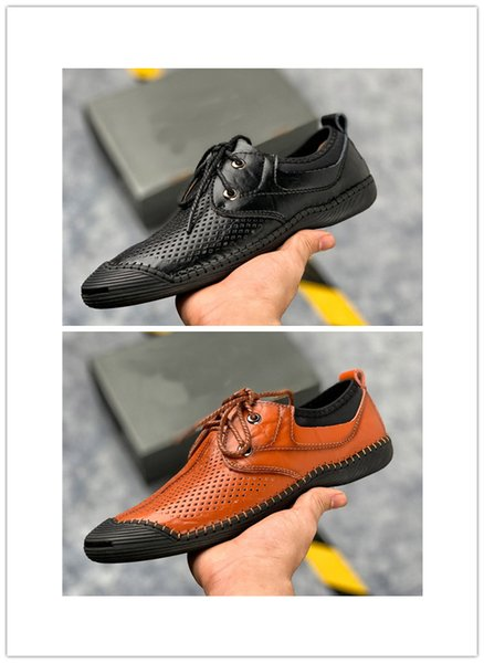 Moda uomo Scarpe casual per uomo traspirante Mesh Dress Shoes alta qualità Mens Designer di lusso Chaussures in primavera estate
