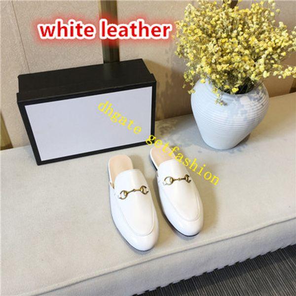 cuir blanc
