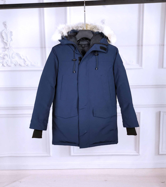 winter mens parka jacket canada goosedown luxury langford down jacket fashion simple outdoor windproof thick warm coat women