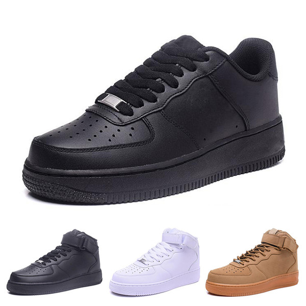 2018 top quality NEW mans fashion the low high top white casual shoes Skateboard shoes Women black love unisex ones 1 HW60