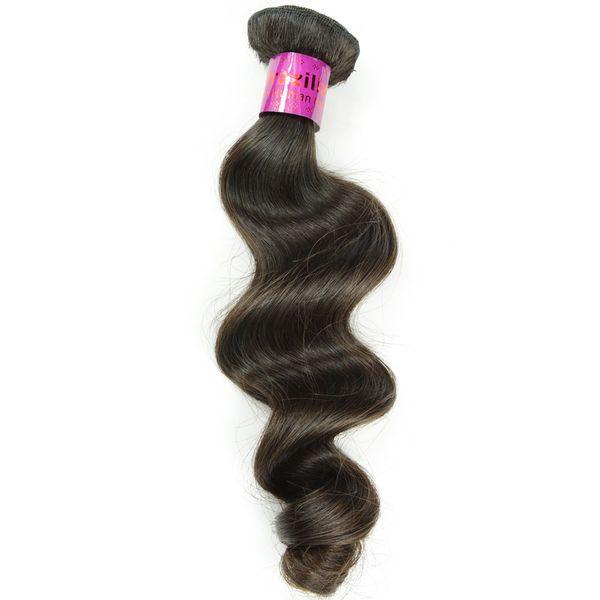 Loose Curl Mongolian Chinese Burmese Vietnamese Human Hair Bundle for African Women Virgin Hair Free Tangle Natural Color 1 Piece Sample
