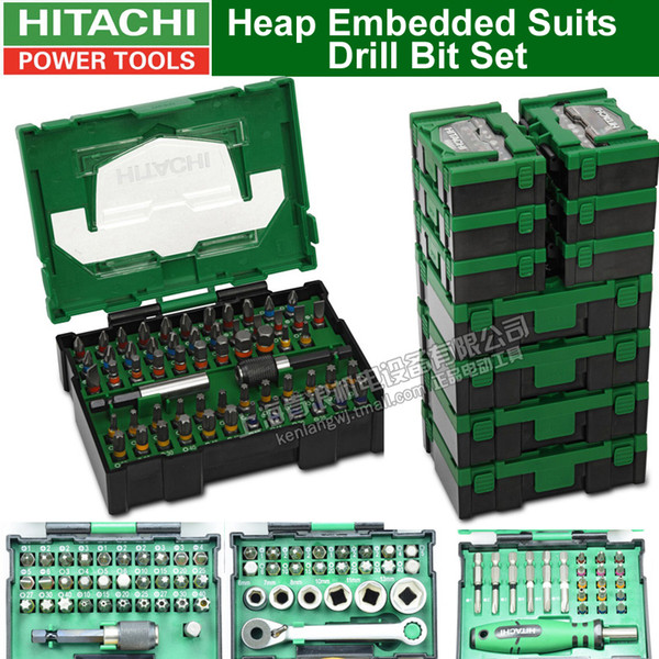 best selling Japan HITAHCI Heap Embedded Suits Drill Bit Set Drill Head Set Screwdriver Electric Bits Screwdriver Head Accessories Bit