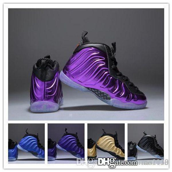 (box)new 6 colors Kids Hardaway pro Basketball Shoes Childrens hardaway Sports Shoes boys girls size Euro 28-35